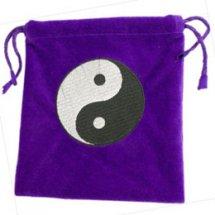 Purple Yin Yang Tarot Bag
