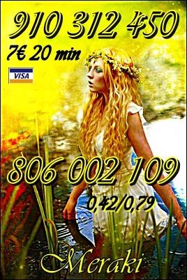 TAROTISTA BUENA Y FIABLE  VISA 9€ 30min 910 312 450 / 806 002 109