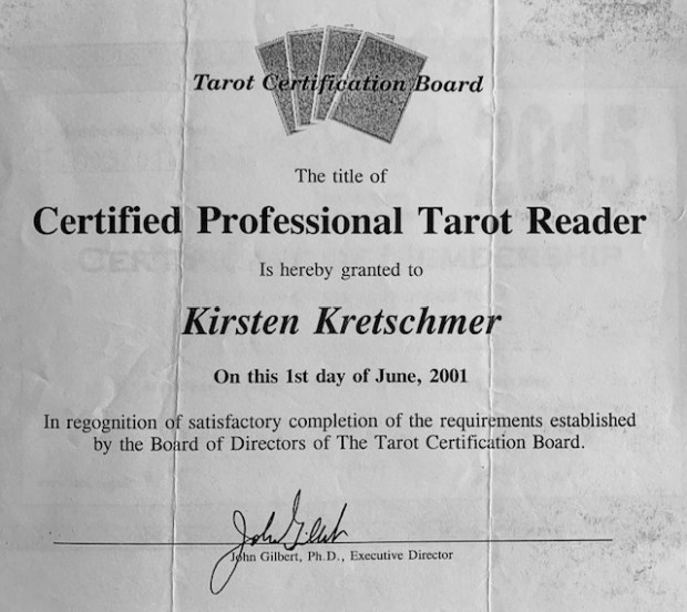 American Tarot Association Kirsten_Buchholzer