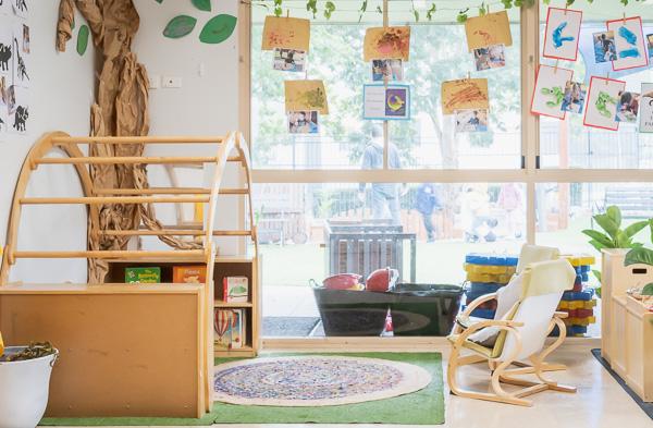 Tarragindi Child Care Centre Possums Reading Nook