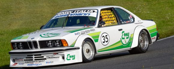Marc Hessel auf BMW 635 CSI Grp. 2