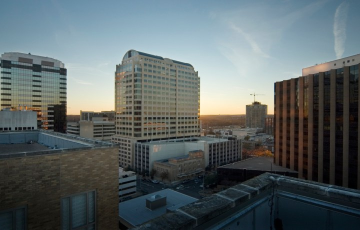 DowntownAustinView From Brown Building