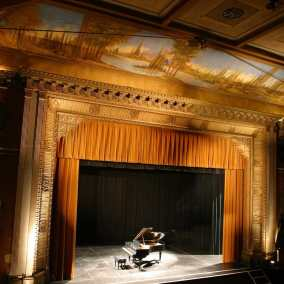 The Music Hall stage, Tarrytown, NY