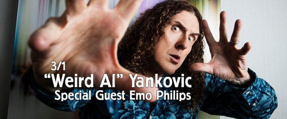 """Weird Al"" Yankovic – The Ridiculously Self-Indulgent, Ill-Advised Vanity Tour (3/1)"