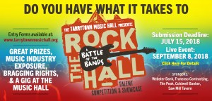 Rock The Hall Banner