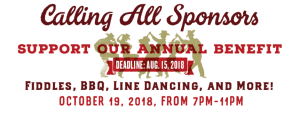 Calling All Sponsors