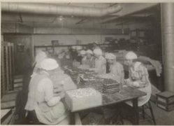 William Wallace's Chocolate Factory circa 1918