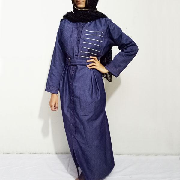 Front-Double-Design-Denim-Abaya-Online-In-Pakistan