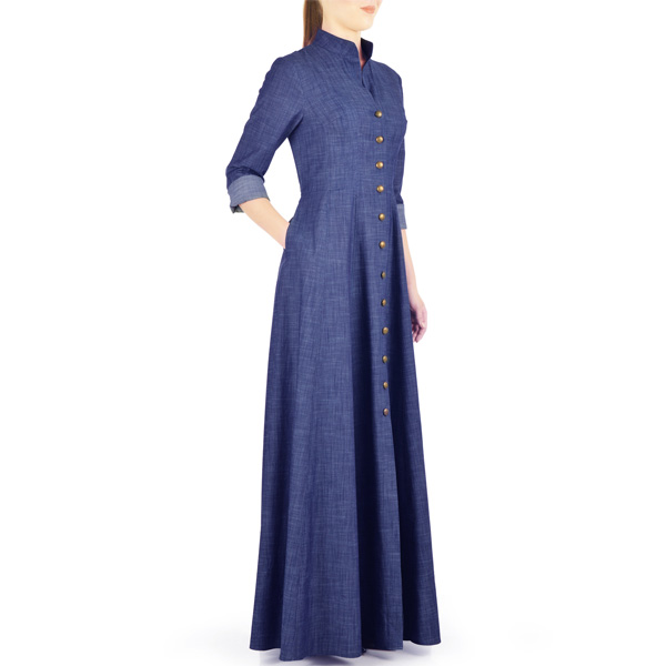 Blue-Jilbab-Denim-Abaya-Coat-Maxy-Style-Designs-2018