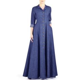 Buy-Jilbab-Denim-Abaya-Latest-Design-Online-In-Pakistan-Blue-Summer-Maxi-Style
