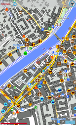 Screenshot of a map