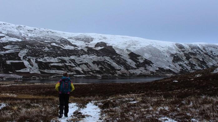Looking onto Loch Cuaich