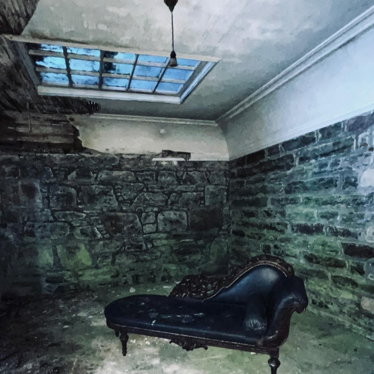 Coco Chanel Abandoned Chaise Lounge