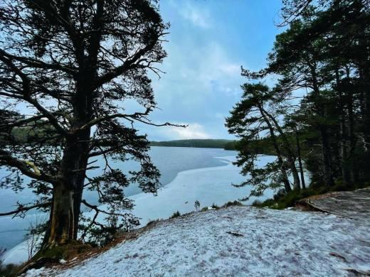 Icy Loch An Eilein