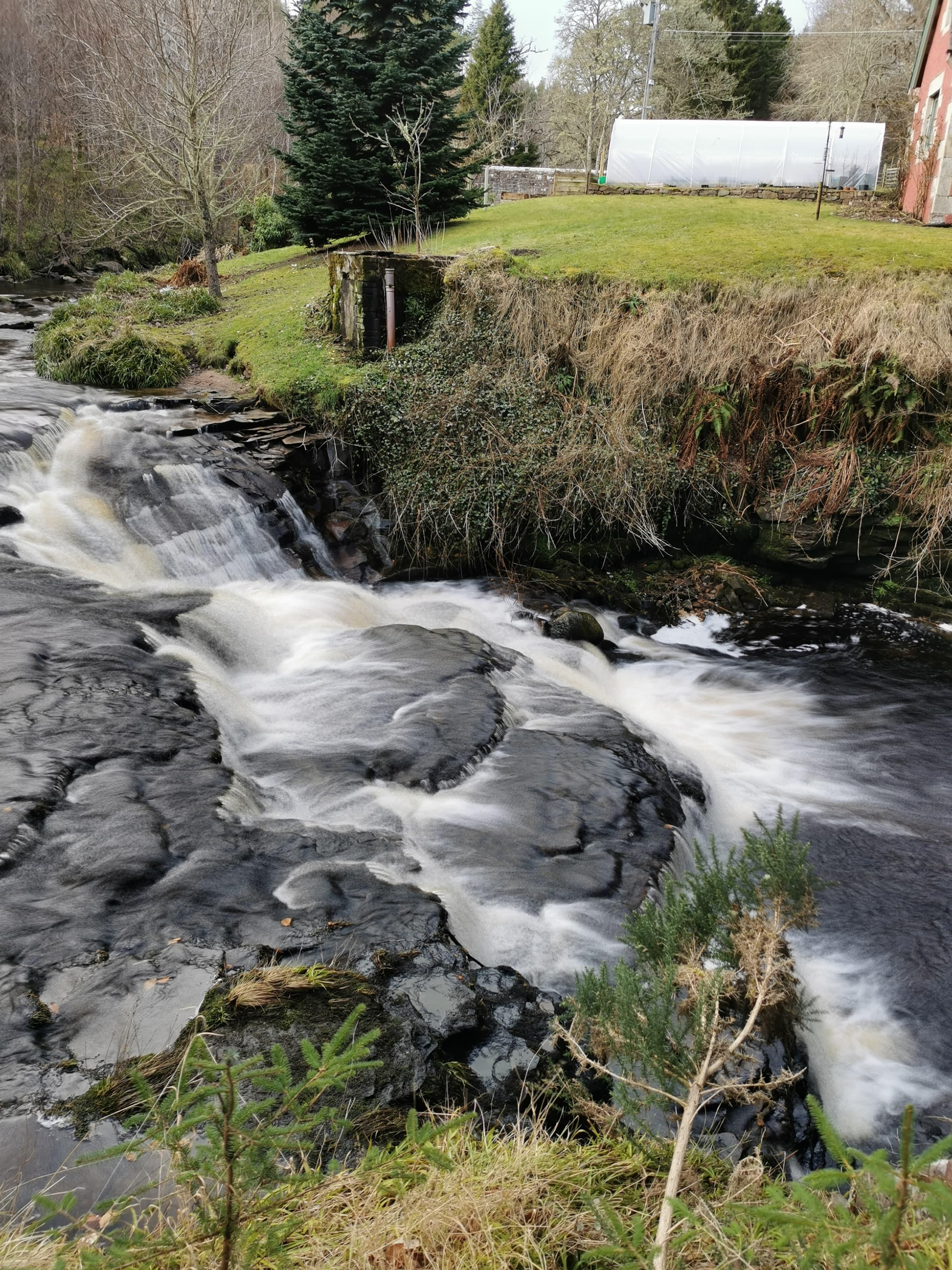 Mini Waterfall in Golspie