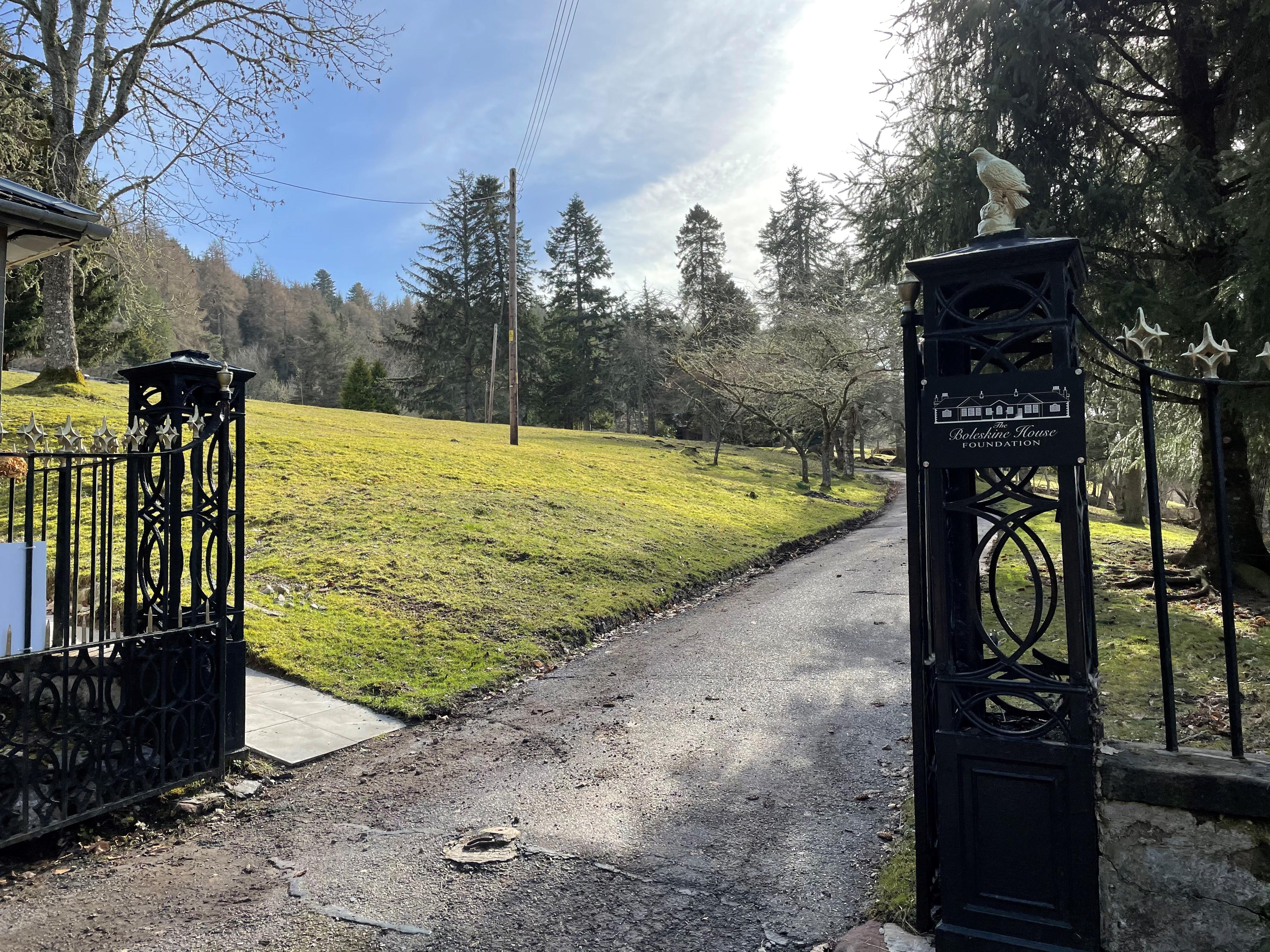 Boleskine Gates Loch Ness