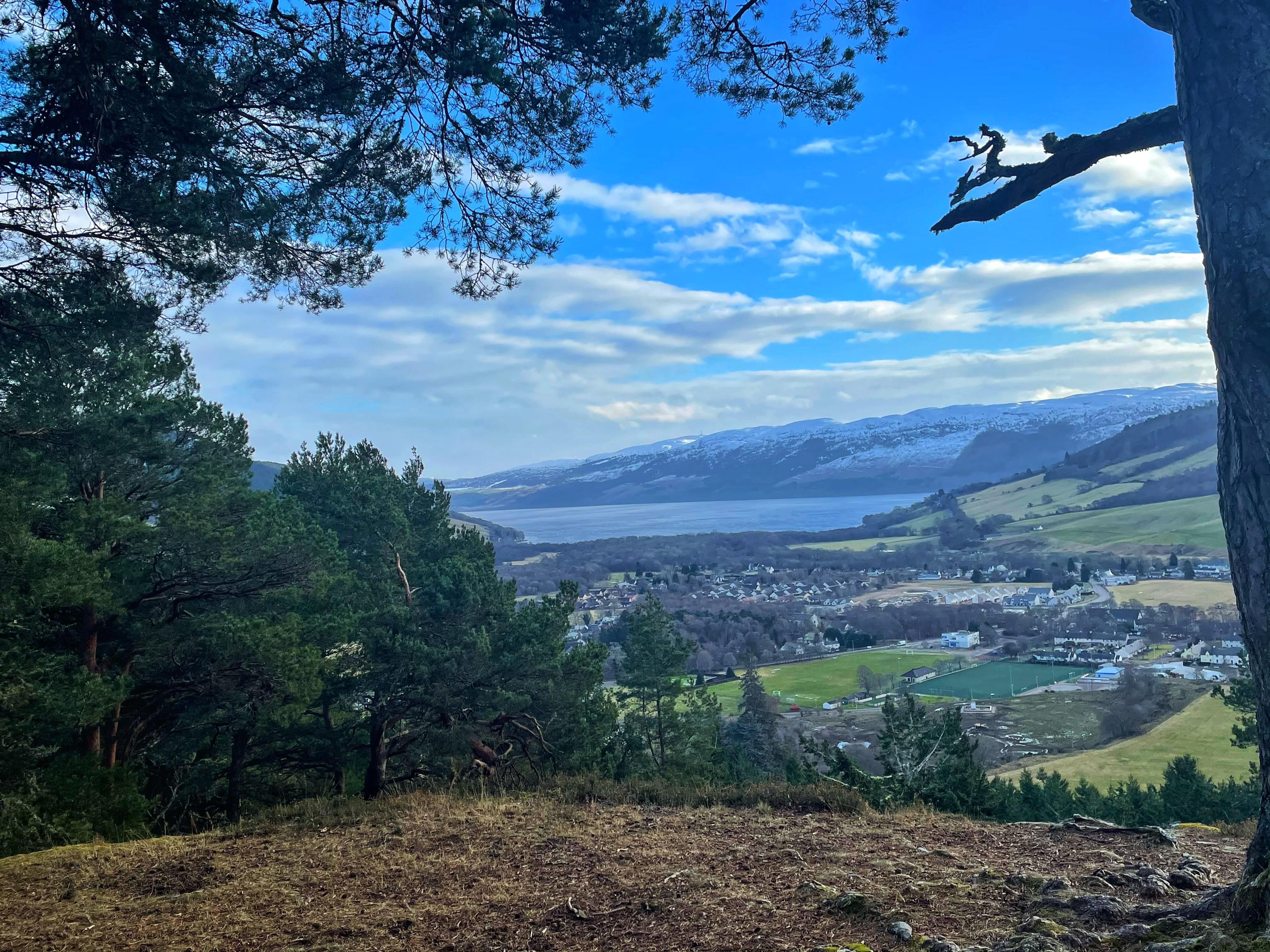 Drumnadrochit View Loch Ness
