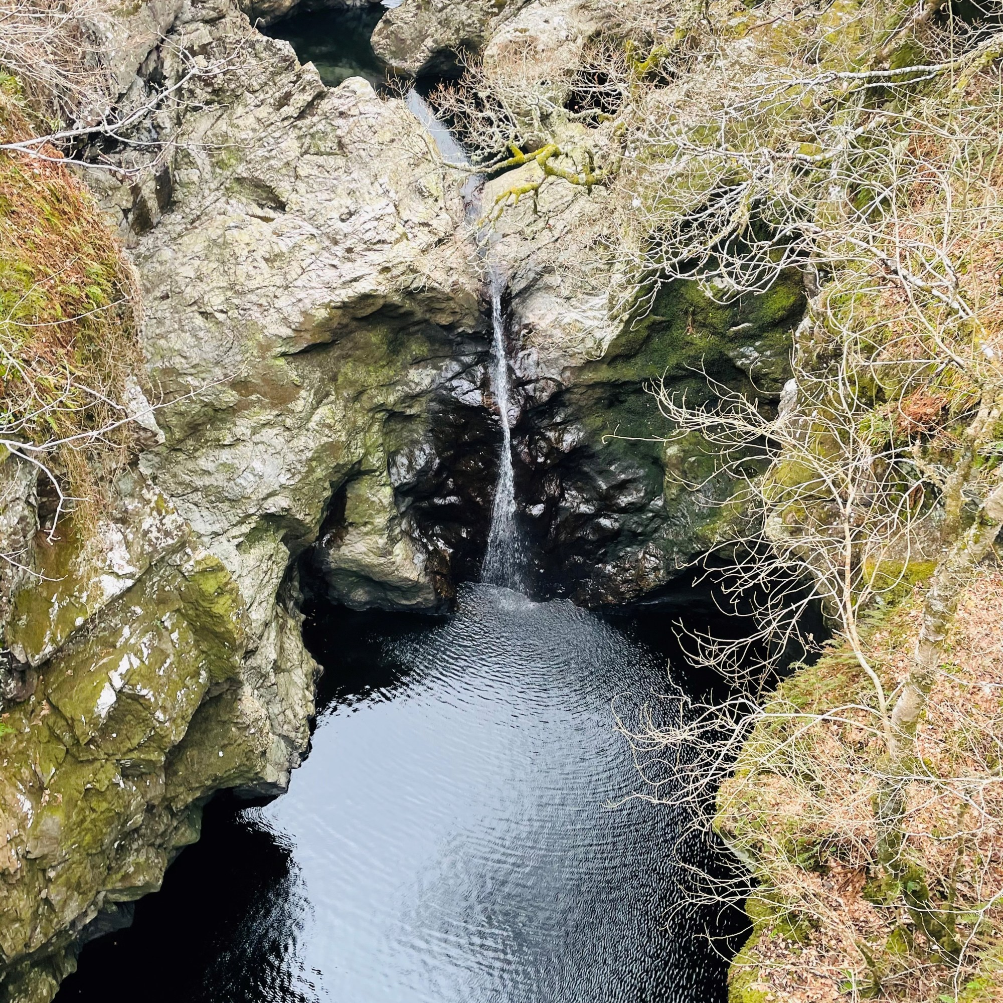 Slow Flowing Foyers Waterfall