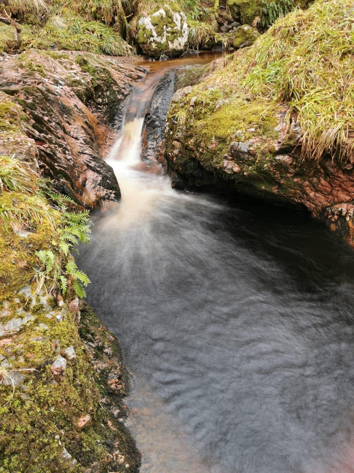 Clava Cairns Waterfall Pool