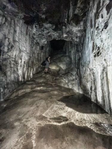 inside spar cave