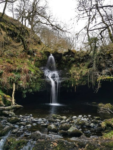 Gilmour's Linn Waterfall Stirling
