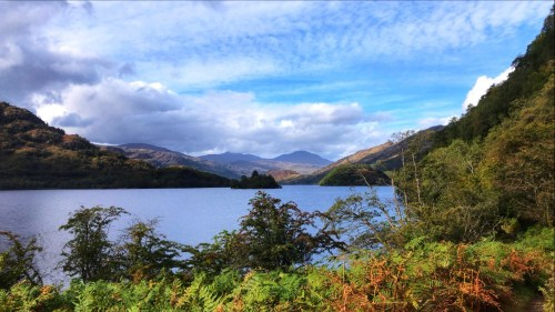 Whw on day 2 views of Loch lomond
