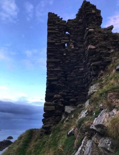 findlater castle ruins
