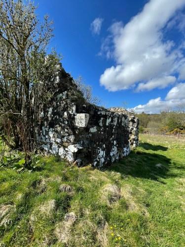St Columba's church ruins