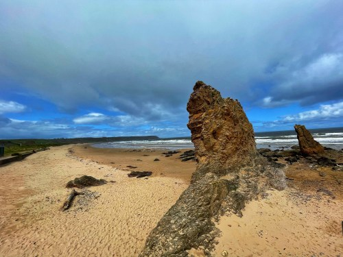 Sea stacks at cullen beach