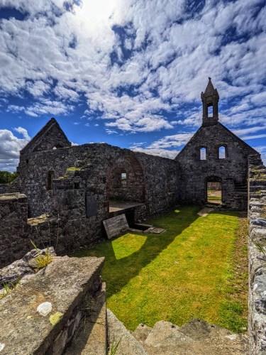 pitsligo church ruins