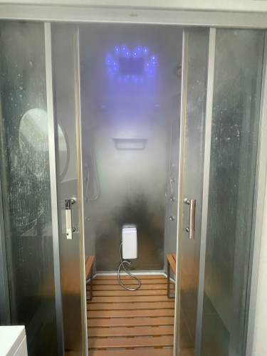 Steam shower north uist
