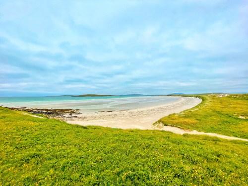Clachan sands beach