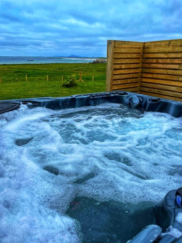Hot tub on North Uist