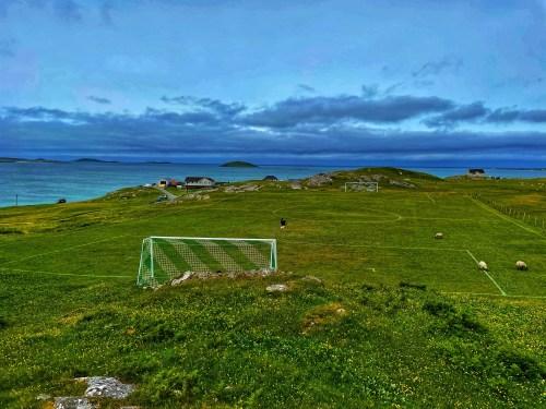 Football pitch on Eriskay