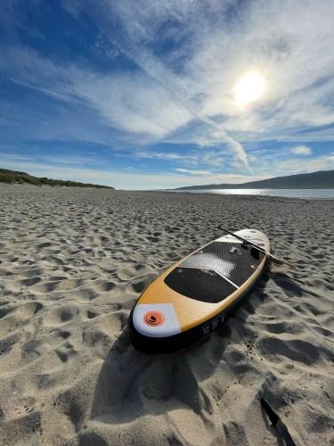 Paddle boarding Isle of Harris