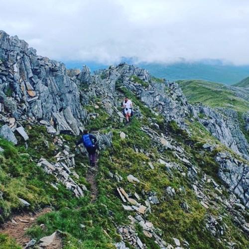 Descending Druim Shionnach