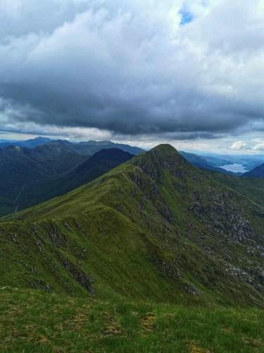 Part of the Glen Shiel ridge