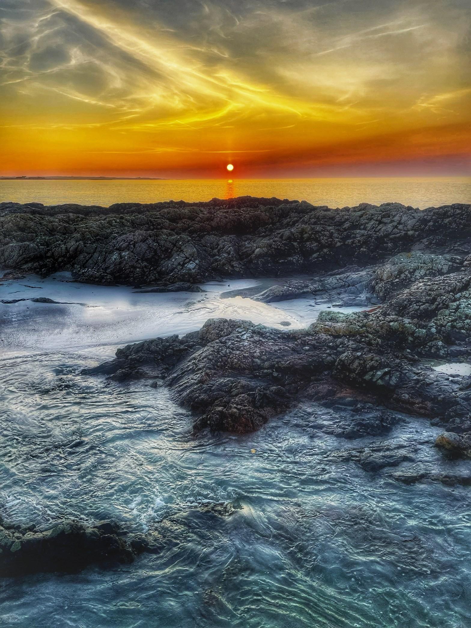 Sunset at Balephetrish