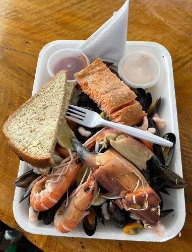Seafood platter Oban