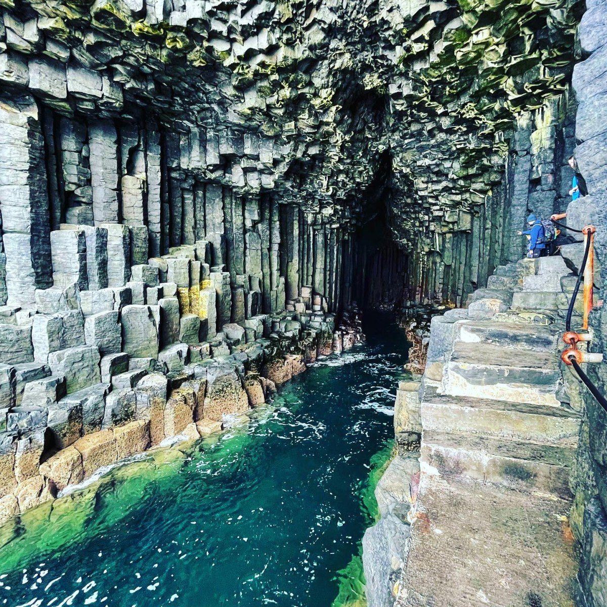 Entrance to Fingal's cave