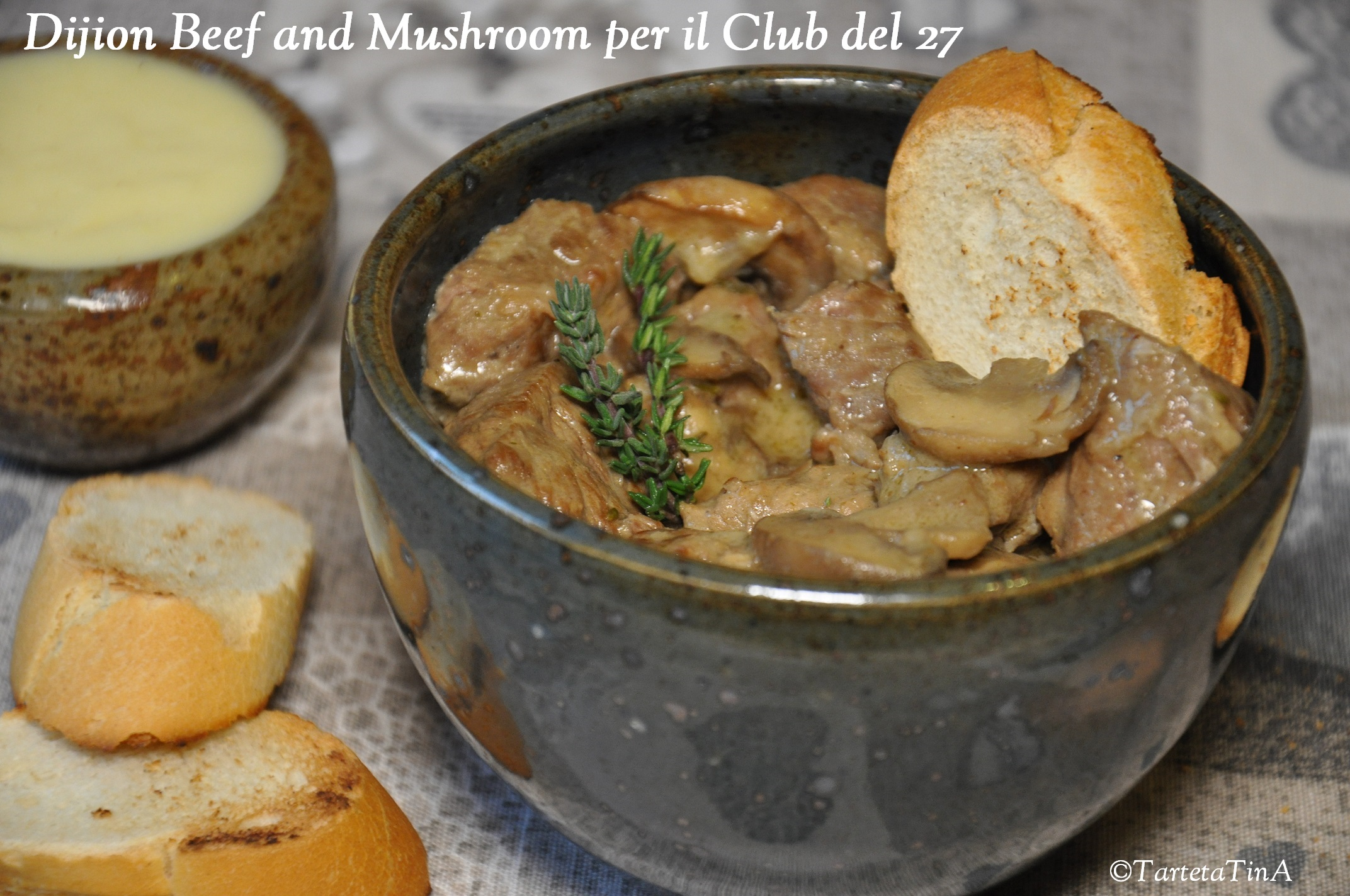 Dijion Beef and Mushroom per il Club del 27