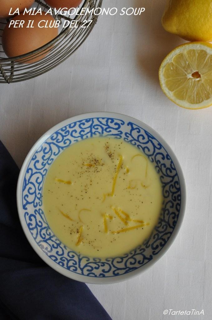 zuppa avgolemono