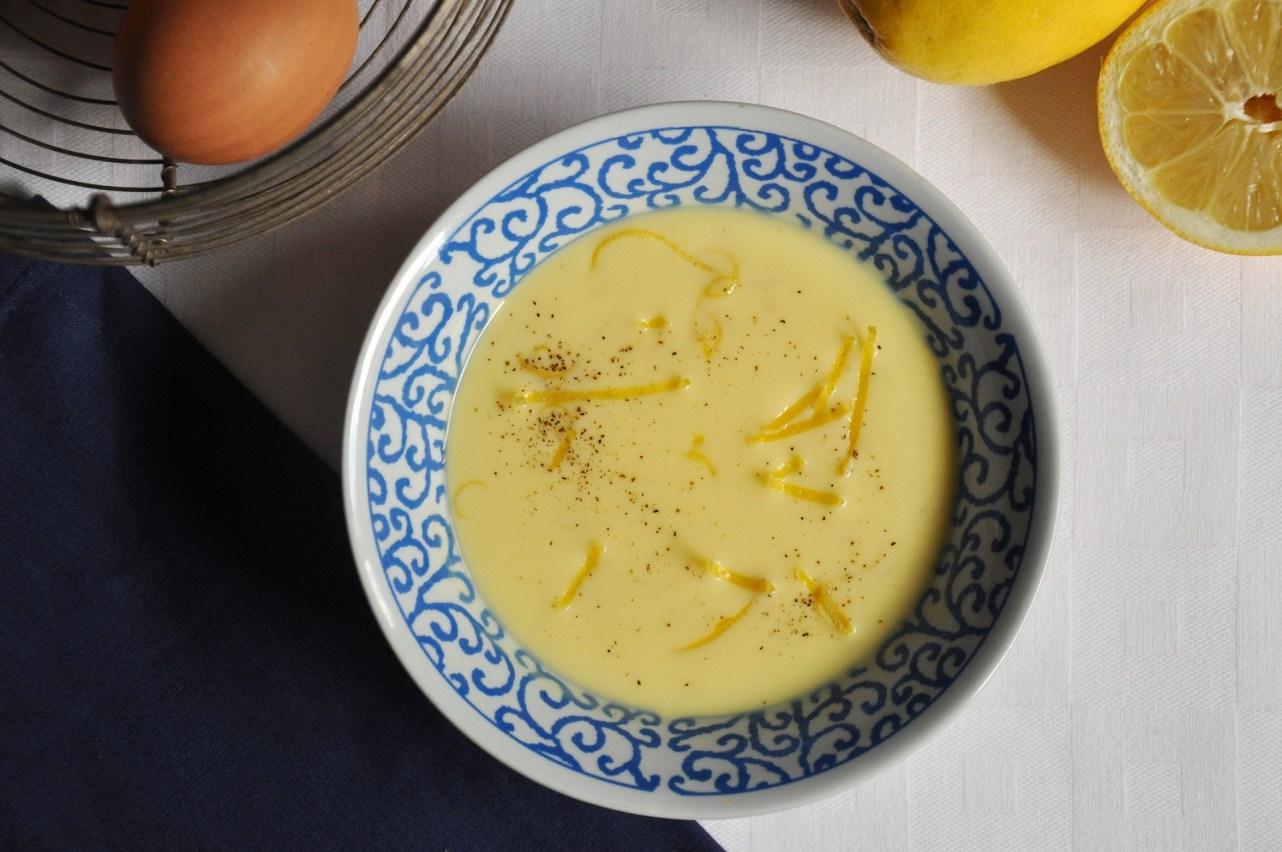 La mia zuppa avgolemono per il Club del 27