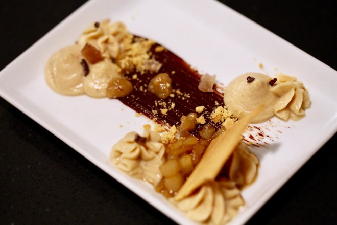Mousse de castañas