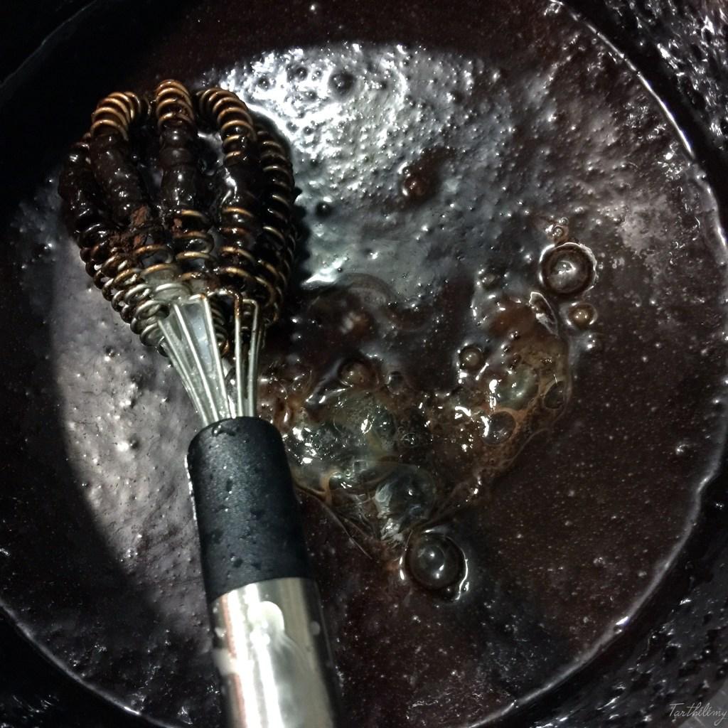 Glaseado espejo de cacao puro