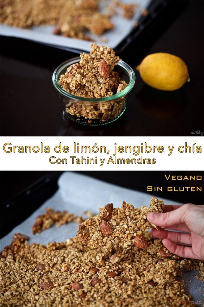 Granola de limon