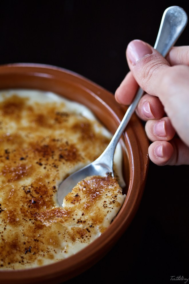 Cuajada de queso brûlée