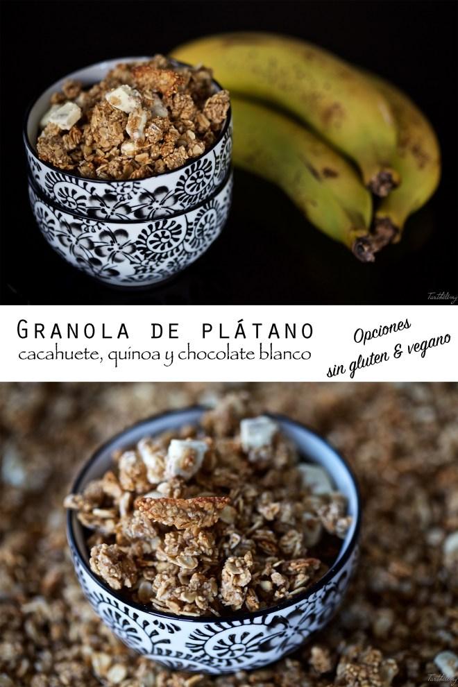 Granola de plátano