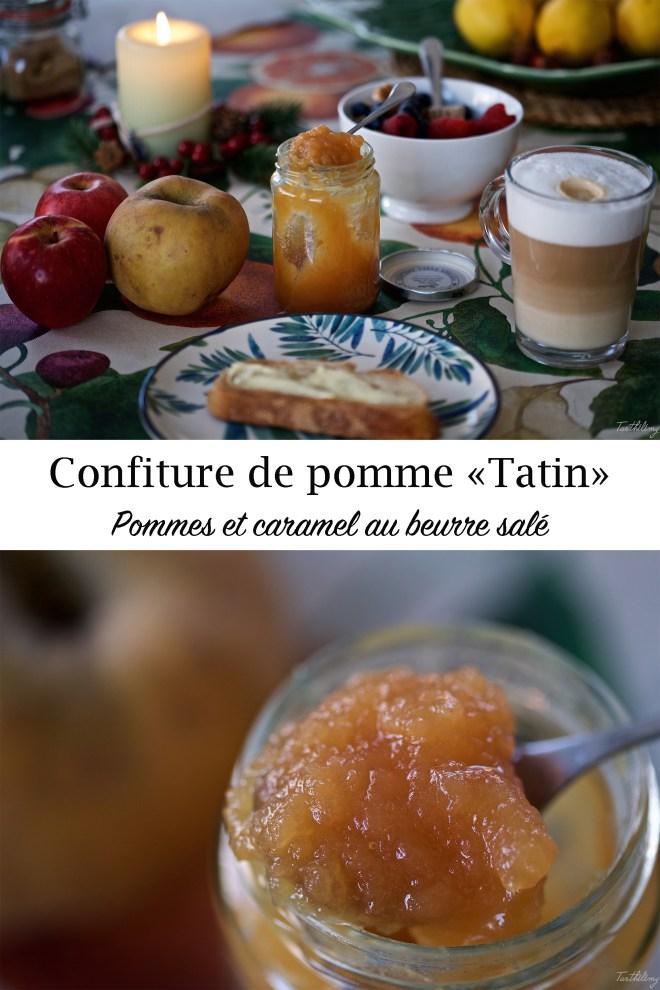 """Confiture de pomme """"Tatin"""""""