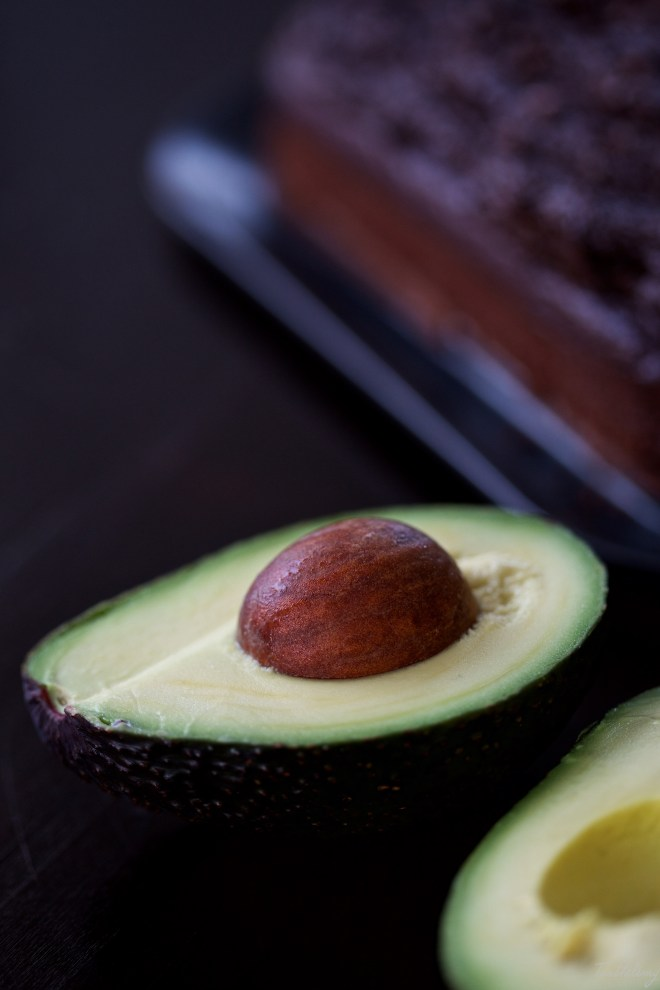 Bizcocho vegano de aguacate y cacao